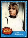 1977 Topps Star Wars #1   Luke Skywalker Front Thumbnail