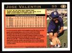 1997 Topps #4  Jose Valentin  Back Thumbnail