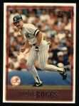 1997 Topps #8  Wade Boggs  Front Thumbnail