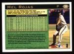 1997 Topps #26  Mel Rojas  Back Thumbnail