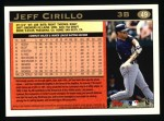1997 Topps #49  Jeff Cirillo  Back Thumbnail