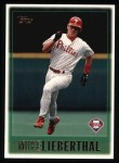 1997 Topps #56  Mike Lieberthal  Front Thumbnail