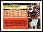 1997 Topps #105  Jim Thome  Back Thumbnail