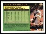 1997 Topps #117  Joey Hamilton  Back Thumbnail