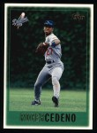 1997 Topps #126  Roger Cedeno  Front Thumbnail