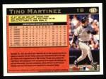 1997 Topps #187  Tino Martinez  Back Thumbnail