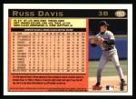 1997 Topps #193  Russ Davis  Back Thumbnail