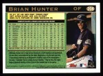 1997 Topps #208  Brian Hunter  Back Thumbnail