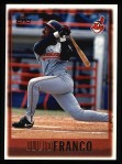 1997 Topps #241  Julio Franco  Front Thumbnail