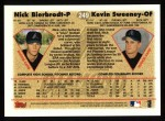 1997 Topps #249  Nick Bierbrodt  Back Thumbnail