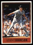 1997 Topps #325  Randy Johnson  Front Thumbnail