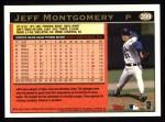 1997 Topps #399  Jeff Montgomery  Back Thumbnail