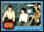1977 Topps Star Wars #52   Who will win the final Star War Front Thumbnail