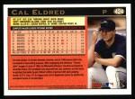 1997 Topps #424  Cal Eldred  Back Thumbnail