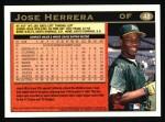 1997 Topps #48  Jose Herrera  Back Thumbnail