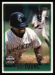 1997 Topps #71  Eric Young  Front Thumbnail