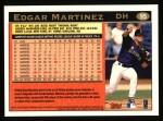 1997 Topps #95  Edgar Martinez  Back Thumbnail