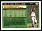 1997 Topps #114  Marvin Benard  Back Thumbnail