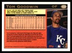 1997 Topps #122  Tom Goodwin  Back Thumbnail