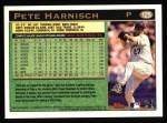 1997 Topps #125  Pete Harnisch  Back Thumbnail