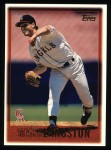 1997 Topps #128  Mark Langston  Front Thumbnail