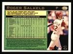 1997 Topps #178  Roger Salkeld  Back Thumbnail