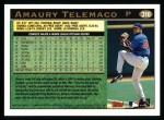1997 Topps #316  Amaury Telemaco  Back Thumbnail