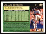 1997 Topps #351  Alan Benes  Back Thumbnail