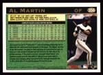 1997 Topps #356  Al Martin  Back Thumbnail