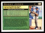 1997 Topps #361  Bobby Jones  Back Thumbnail