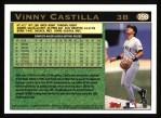 1997 Topps #398  Vinny Castilla  Back Thumbnail