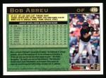 1997 Topps #416  Bobby Abreu  Back Thumbnail
