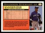 1997 Topps #456  Shannon Stewart  Back Thumbnail