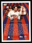 1997 Topps #463   -  Paul Molitor Season Highlights Back Thumbnail