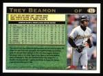 1997 Topps #476  Trey Beamon  Back Thumbnail