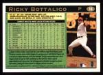 1997 Topps #14  Ricky Bottalico  Back Thumbnail