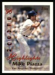 1997 Topps #104  Mike Piazza  Front Thumbnail