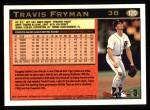 1997 Topps #120  Travis Fryman  Back Thumbnail