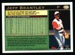 1997 Topps #188  Jeff Brantley  Back Thumbnail