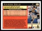 1997 Topps #243  Aaron Sele  Back Thumbnail