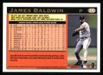 1997 Topps #310  James Baldwin  Back Thumbnail