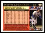1997 Topps #312  Keith Lockhart  Back Thumbnail