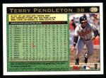 1997 Topps #319  Terry Pendleton  Back Thumbnail