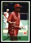 1997 Topps #373  Jose Rijo  Front Thumbnail