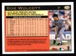1997 Topps #427  Bob Wolcott  Back Thumbnail