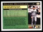 1997 Topps #430  Shane Reynolds  Back Thumbnail