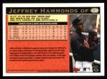 1997 Topps #438  Jeffrey Hammonds  Back Thumbnail
