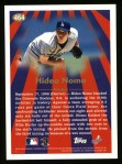 1997 Topps #464   -  Hideo Nomo Season Highlights Back Thumbnail