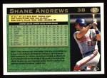 1997 Topps #57  Shane Andrews  Back Thumbnail