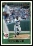 1997 Topps #74  Brian McRae  Front Thumbnail